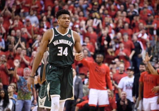 Whatever Bucks star Giannis Antetokounmpo's shooting percentage is, it's probably higher than the percentage of people who get his name right.