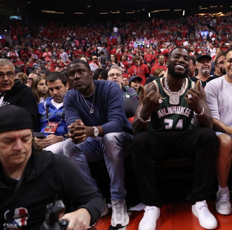 The latest Bucks bandwagon fan appears to be rapper Gucci Mane