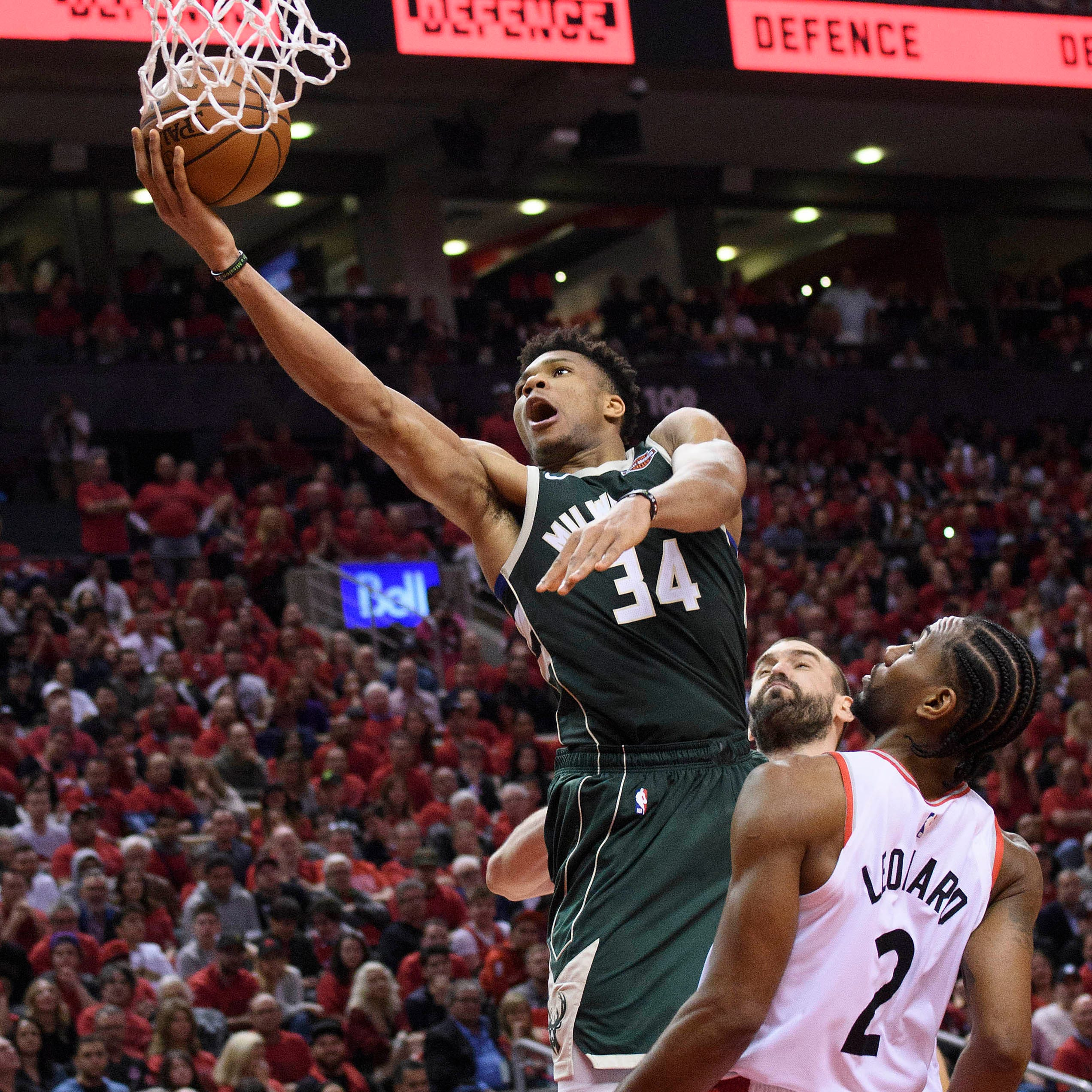 Giannis Antetokounmpo is a unanimous first-team all-NBA pick and becomes eligible for future 'supermax' deal