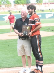 Viola's Will Wilson was named the Class 1A State championship MVP.