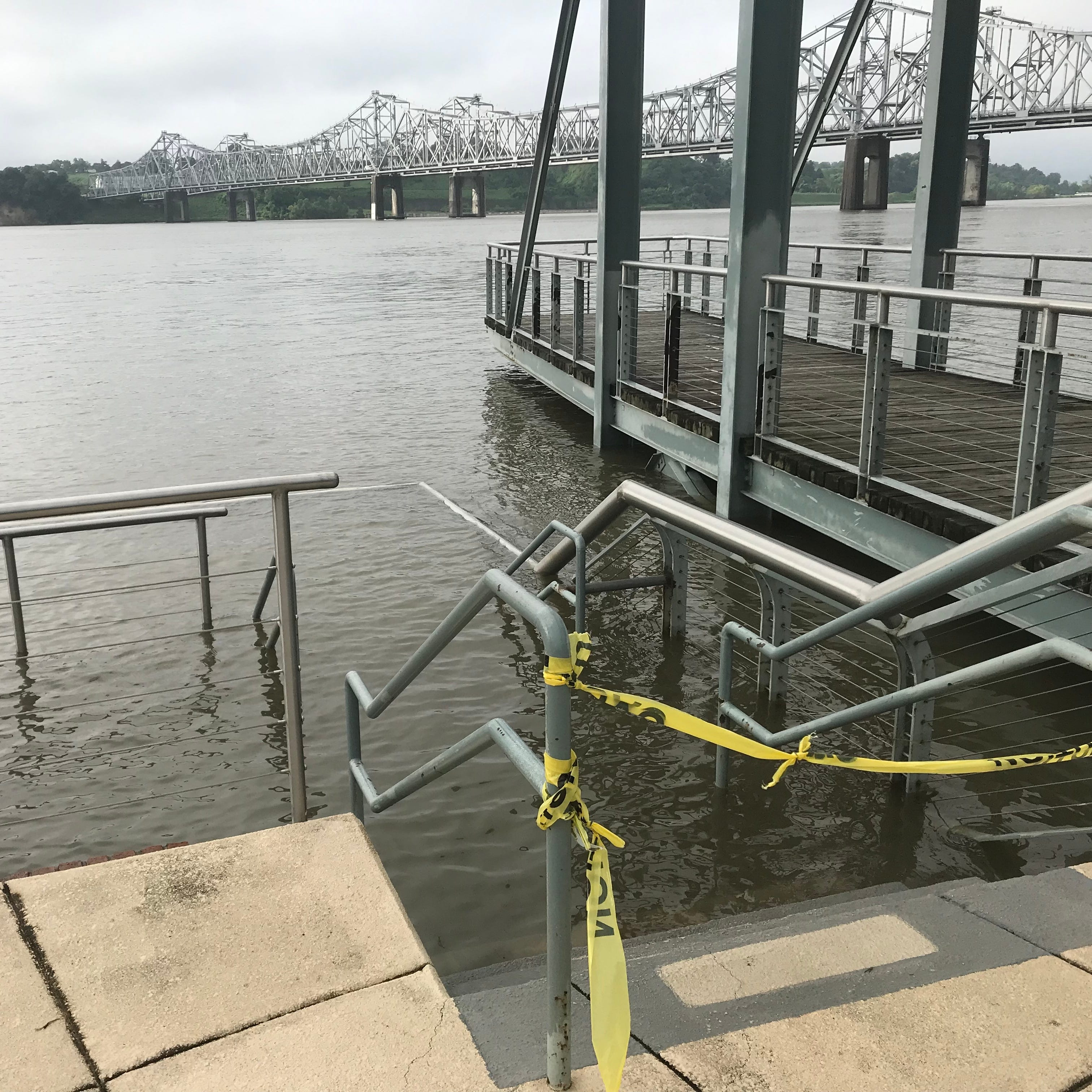 Mississippi River reaches record flood duration: 'I'm on pins and needles'