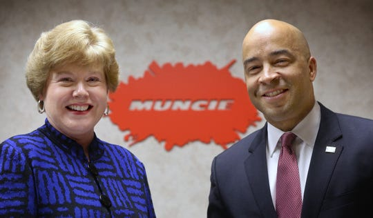 Damon Elmore and Liz Ludwick of Muncie Power Products will be co-chairs of the 2019 United Way annual fundraising campaign.