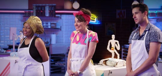 "Franklin teacher Cassie Stephens competes on the Netflix baking show ""Nailed It!"""