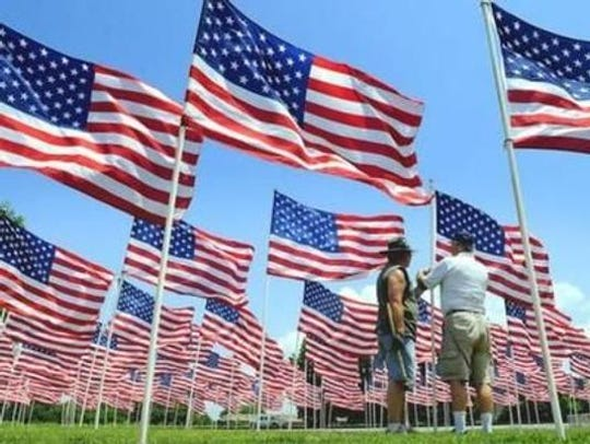 The Exchange Club of West Wilson County and American Legion Post 281 will hold its Field of Honor for Memorial Day weekend in Mt. Juliet.