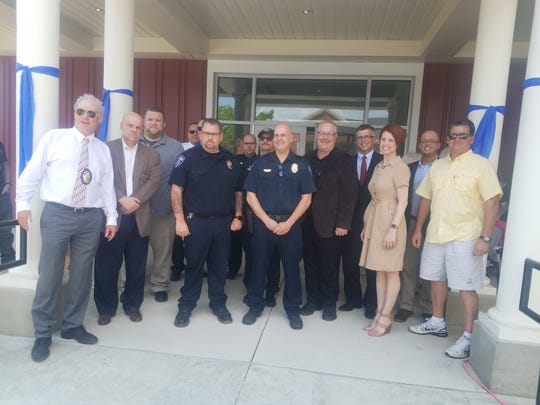 Saturday, May 18, the city of Pataskala officially dedicated its new police headquarters just off Broad Street.