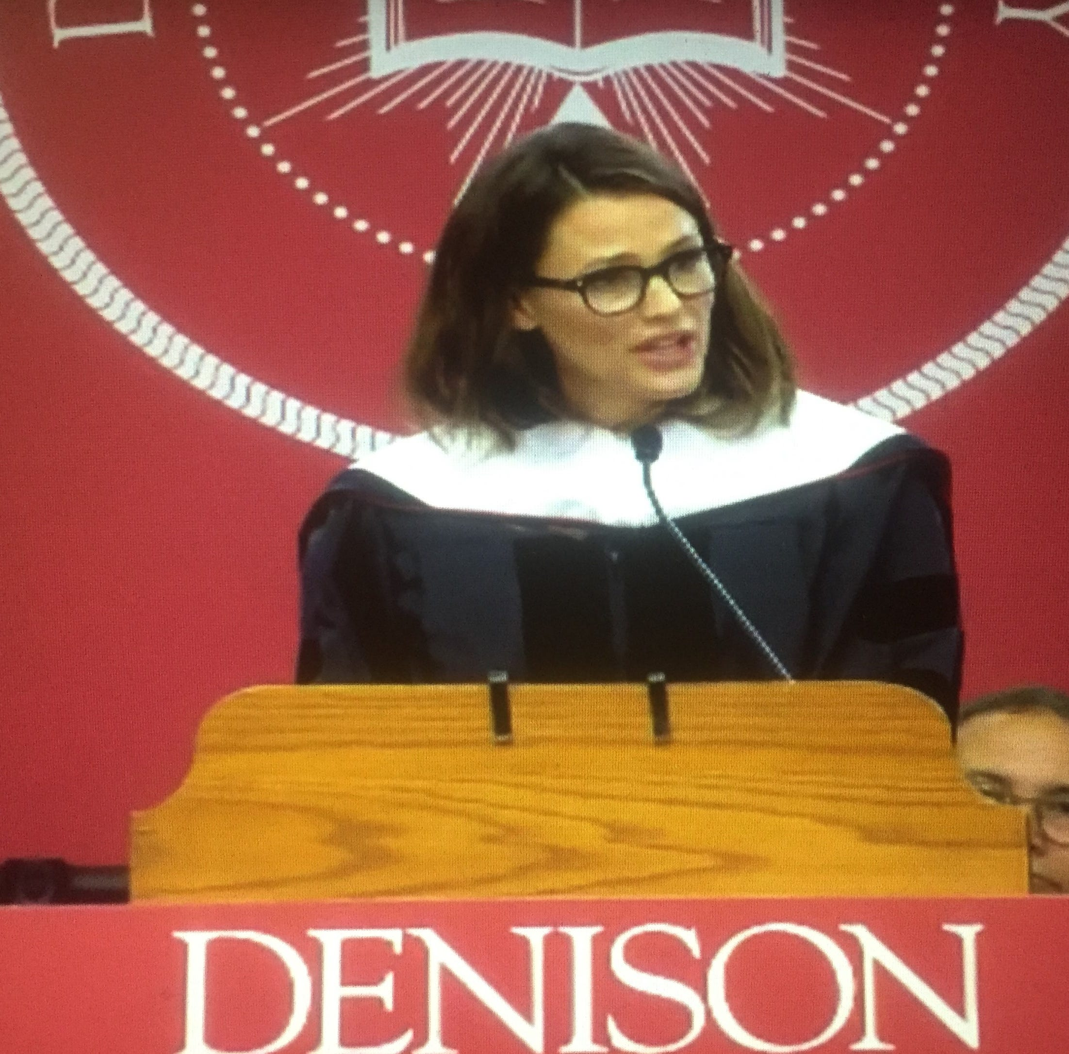 Jennifer Garner to Denison grads: 'You're responsible for your own happiness'