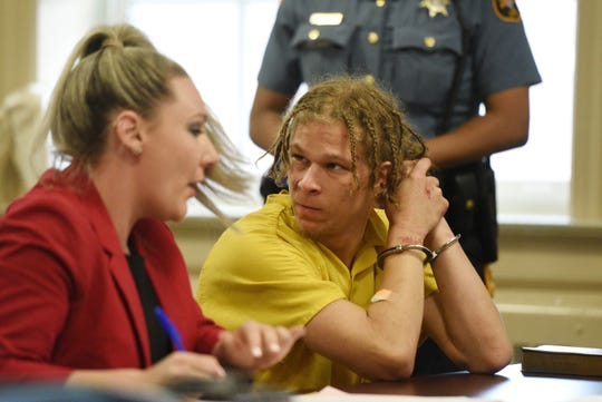 Cyprian Luke, 19, of Morristown, made an appearance in Morris County Superior Court on Monday, May 20, 2019 with his attorney Tracy Denholtz. Luke who had an outstanding warrant out for domestic violence, was beaten badly by police as he was held on the ground and arrested in Dover early Sunday, a video recorded by a friend shows.