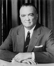 F.B.I. director J. Edgar Hoover poses for his portrait in this undated photo.