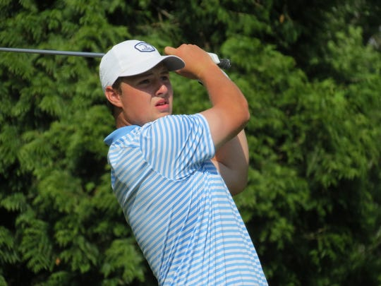 Christian Brothers senior Jack Wall repeated as titlist at the NJSIAA Tournament of Champions golf tournament at Hopewell Valley G&CC in Hopewell on Monday, May 20, 2019.