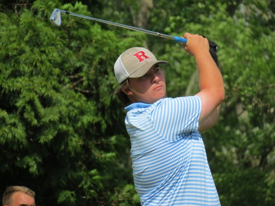 Christian Brothers Academy senior Brendan Hansen was runner-up at the NJSIA Tournament of Champions golf tournament at Hopewell Valley G&CC in Hopewell on Monday, May 20, 2019.