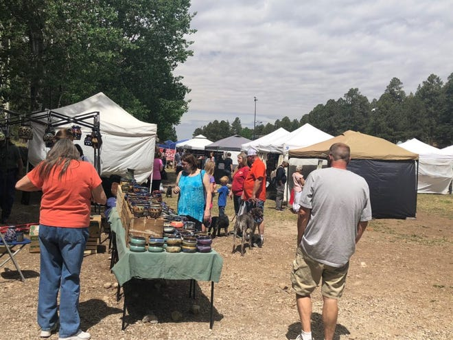 Artists from around the country will be in Cloudcroft for Mayfair at Zenith Park  Saturday, May 25, and Sunday, May 26, from 10 a.m. to 5 p.m.