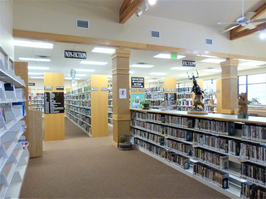 The Ruidoso Library offers an extensive collection.