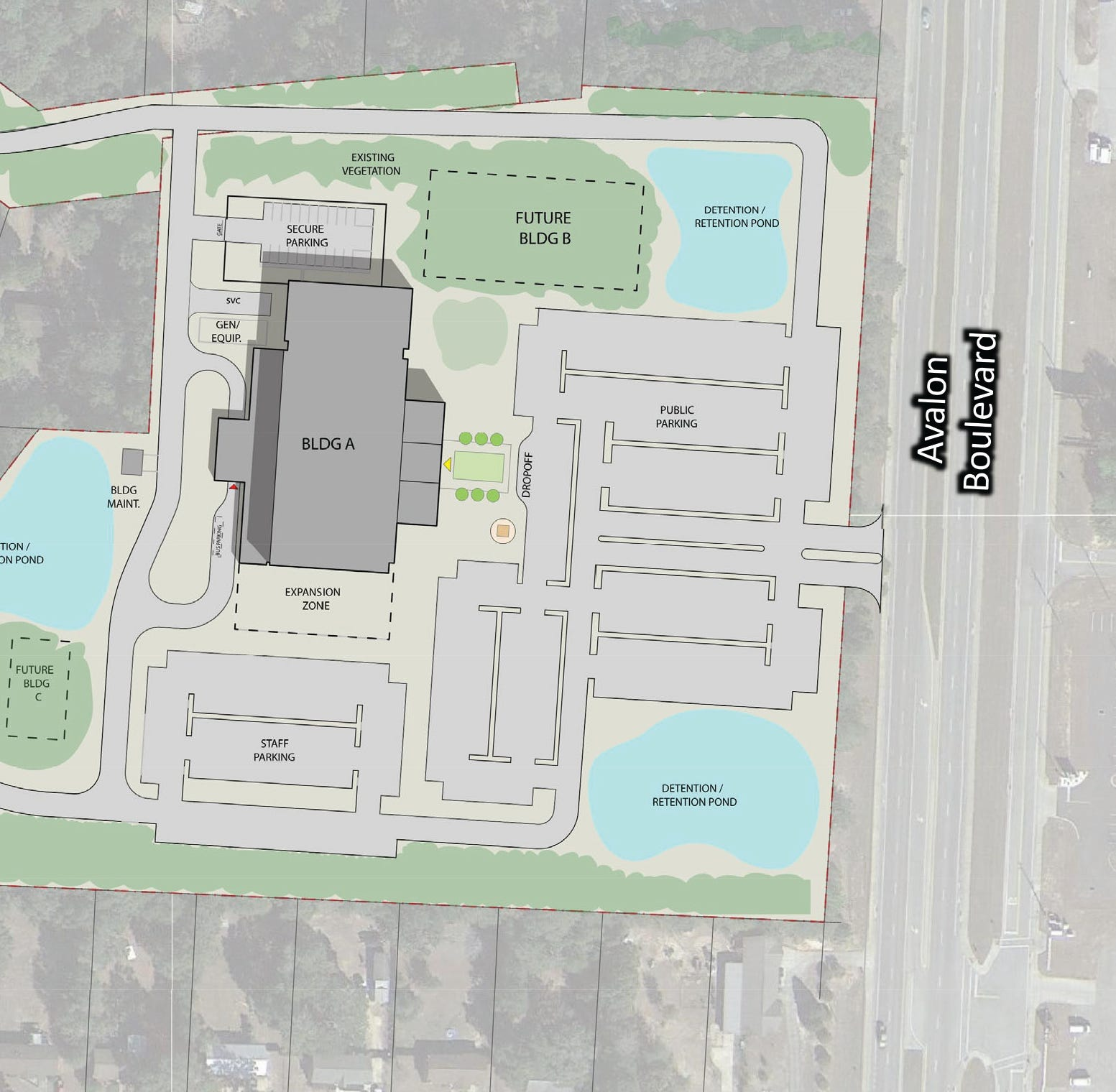 Here's what the new Santa Rosa County Courthouse grounds might look like