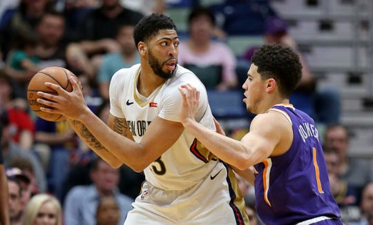 How would New Orleans Pelicans center Anthony Davis fit in with the Phoenix Suns?