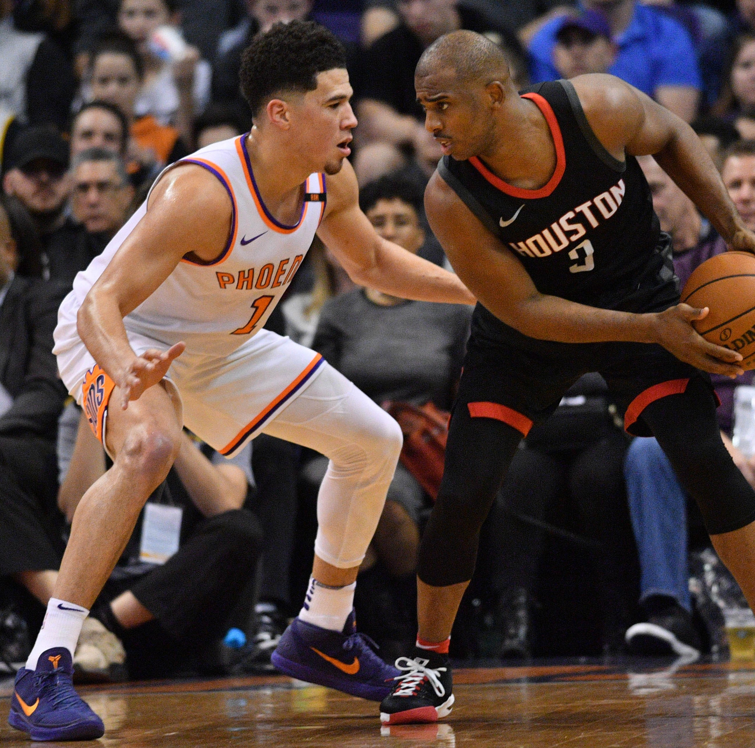 Chris Paul trade rumors: Phoenix Suns a possibility for Houston Rockets' star point guard