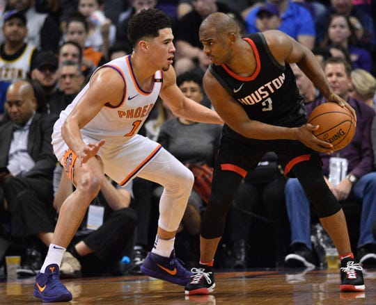 How would Chris Paul fare as a teammate of Devin Booker on the Phoenix Suns?