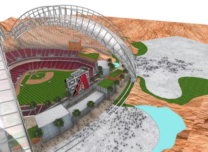 Might the Diamondbacks next stadium look something like this?