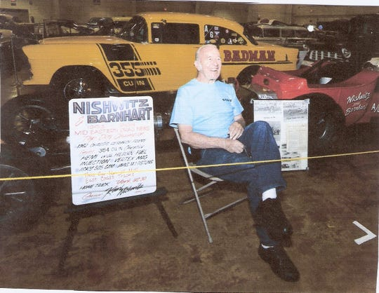 Karl Nishwitz was a well-known member of the local drag-racing community. He died last November at age 84. He will be honored during the Tribute to the York US30 Dragway on June 15-16.