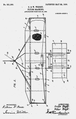 """Patent number 821,393 dated May 22, 1906, was for Orville and Wilbur Wrights' """"Flying Machine,"""" which ultimately changed world history."""