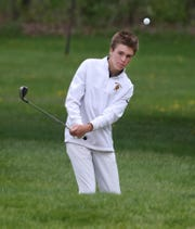 McQuaid senior Alex Zurat finished sixth at the state golf tournament to lead Section V.