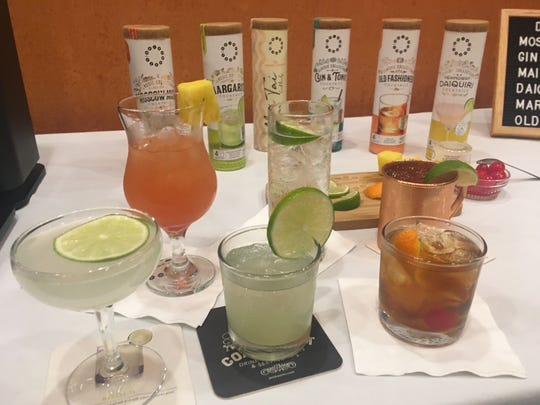 A selection of drinks by Drinkworks.
