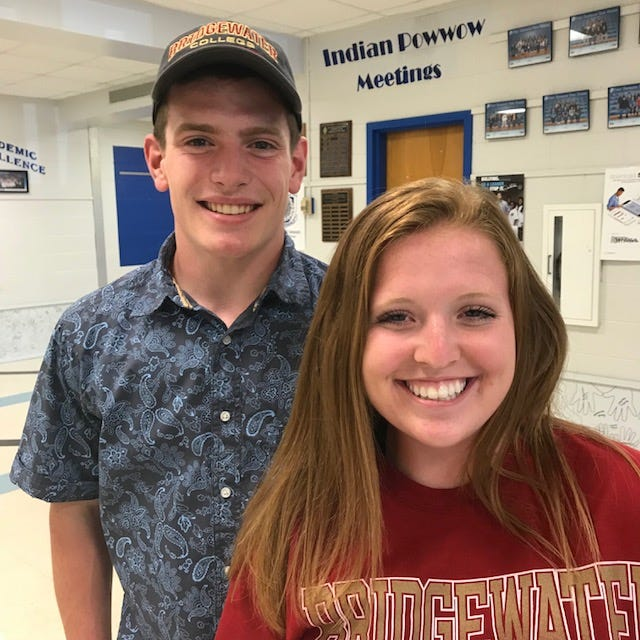 Fort Defiance's Matt Wonderley and Ali Keister were honored Friday for Division III collegiate athletic opportunities.