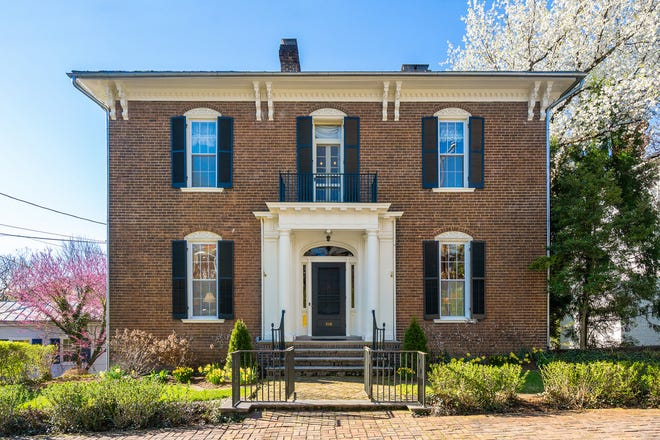 This Gospel Hill historic home was built sometime between 1870 and 1877 by William Patrick Breckenridge. Located at 316 E. Beverley St. this home is for sale for $550,000.