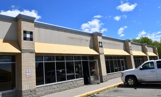 The future location of a new Anytime Fitness business is pictured Monday, May 20, in Sartell.