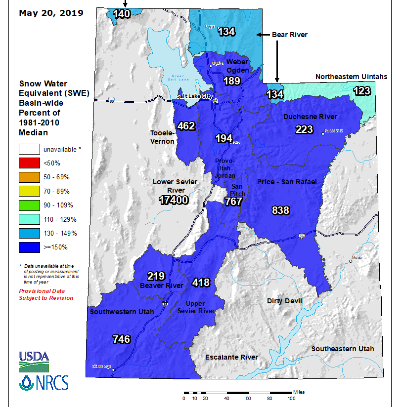 Stormy Monday ushers in wet week for southern Utah