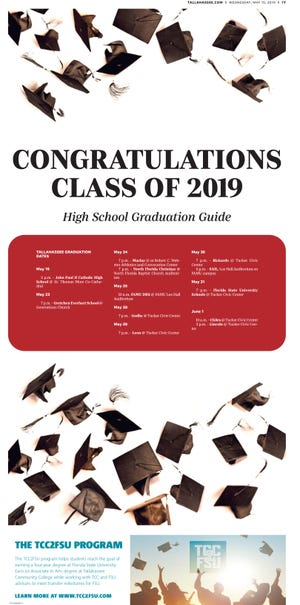 Congratulations Class of 2019.