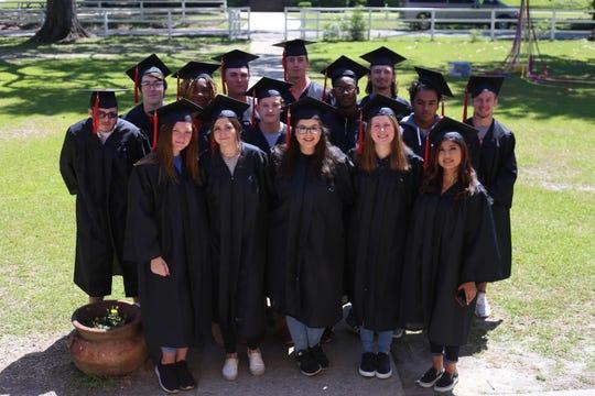 Class of 2019 graduating seniors at Robert F. Munroe Day School in Gadsden County.