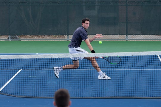 Former Coronado tennis player Wilson Lambeth will compete in the NCAA Division III Tennis Tournament this weekend in singles and doubles competition.