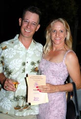 Chad Nicholson and his wife Jennifer Welch Nicholson attend An Evening Under the Stars, a benefit for the ImagineU Childrens Museum, in this 2005 file photo.