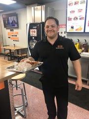 Nick Vurchio, owner of Burgerim in Mamaroneck.