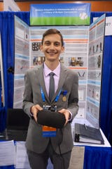 Giovanni Santucci won first place in the behavioral and social sciences category at the 2019 Intel International Science and Engineering Fair that took place in Arizona this year.