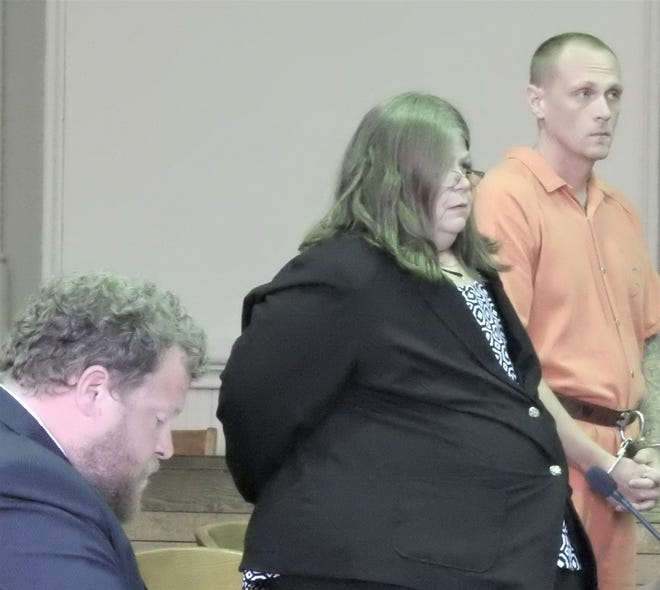 Billy Hess, who supplied drugs to a woman who died, was sentenced to four years in prison and ordered to pay for her funeral.