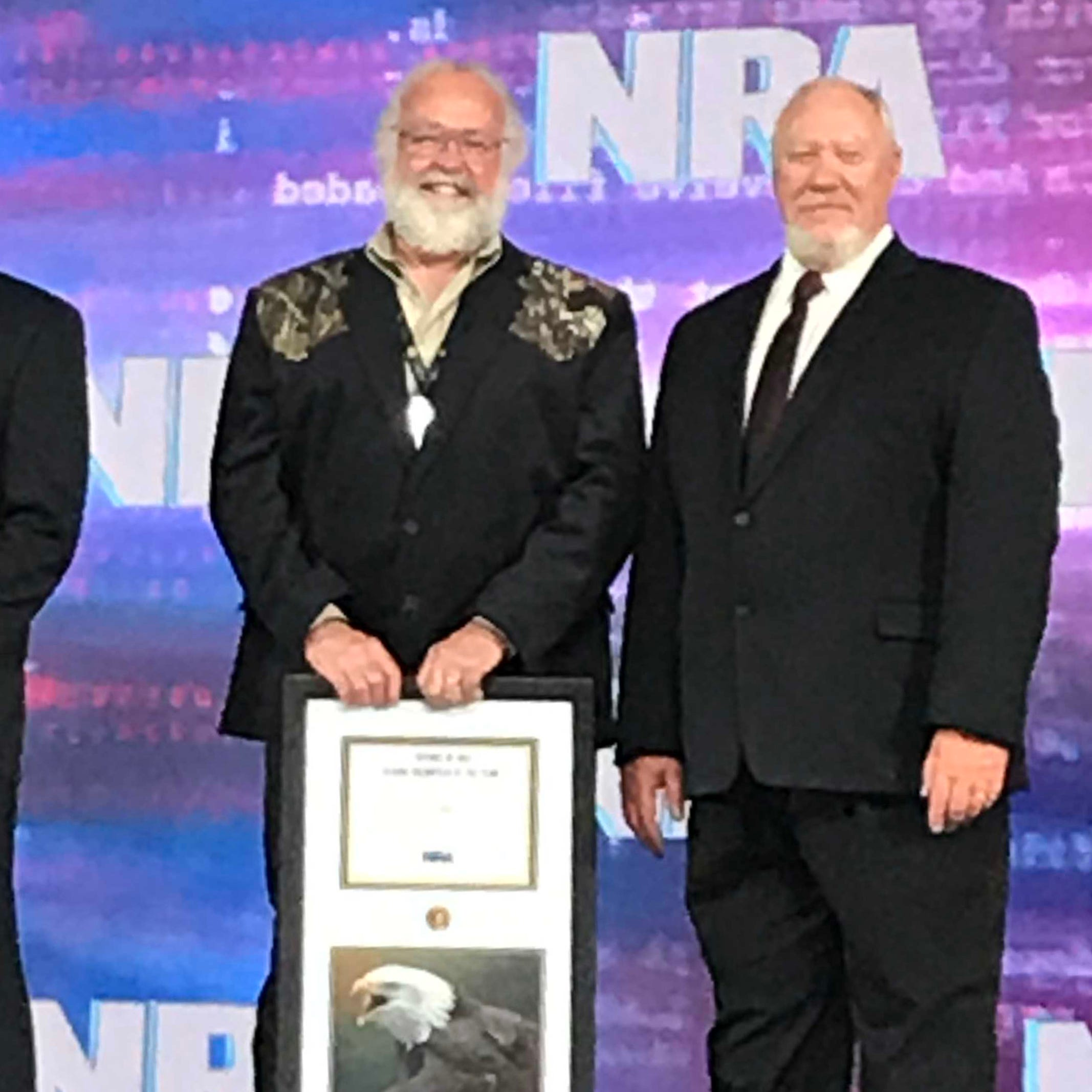 Pagath recognized for volunteer work with Friends of the NRA