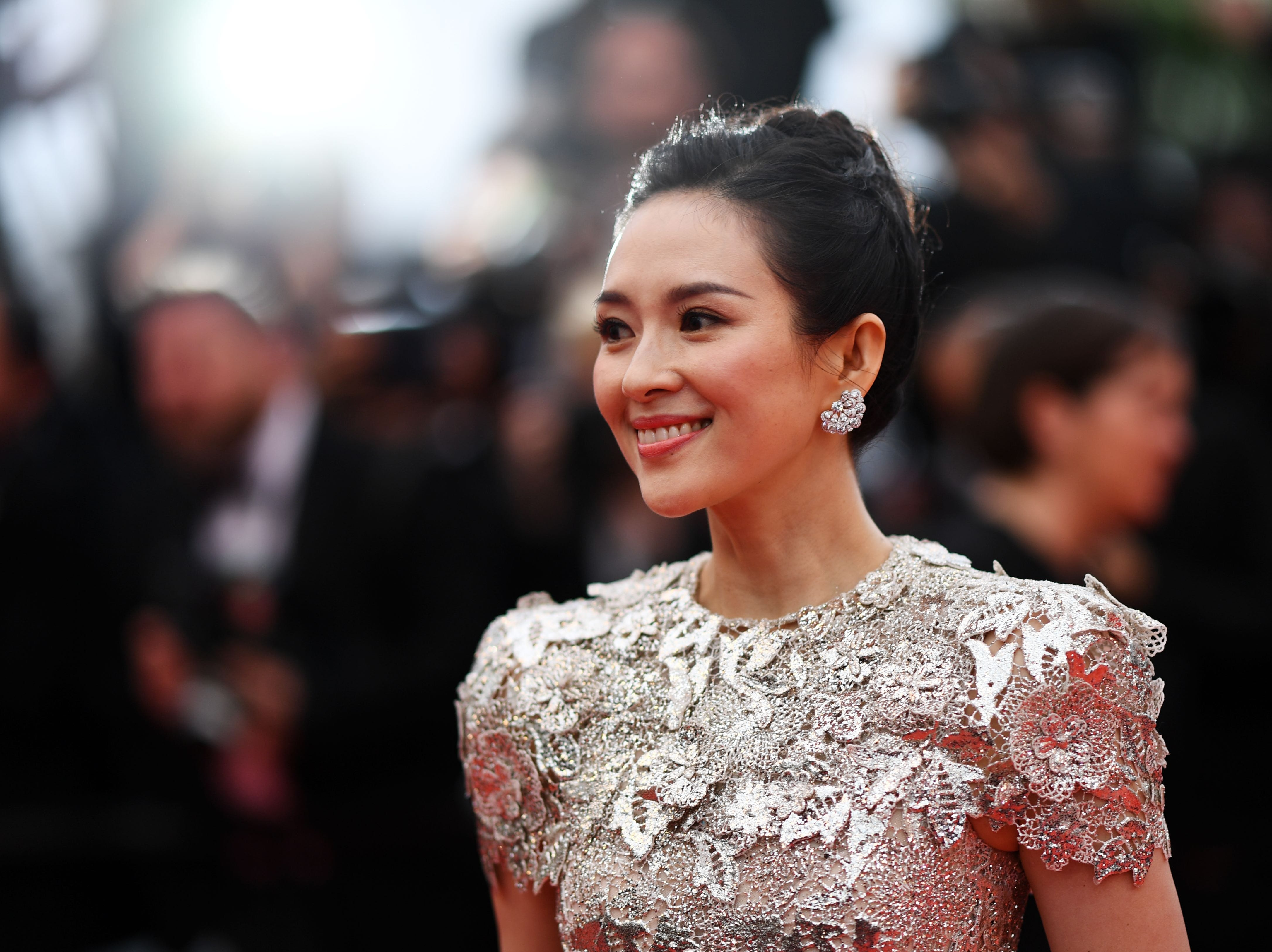 """Zhang Ziyi arrives for the screening of the film """"La Belle Epoque"""" at the 72nd edition of the Cannes Film Festival in Cannes, France."""