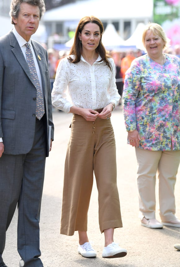 Kate's casual look.