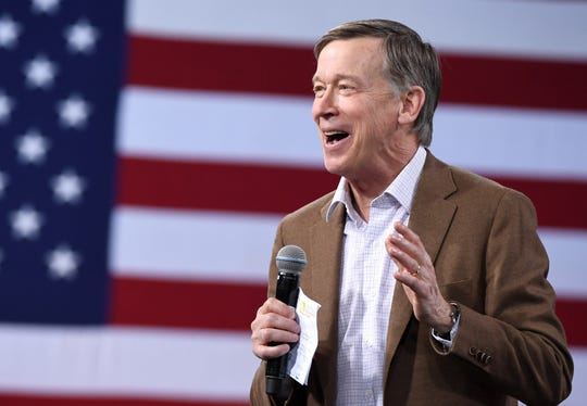 Former Colorado Gov. John Hickenlooper says he is becoming more open to the possibility of a Senate run.