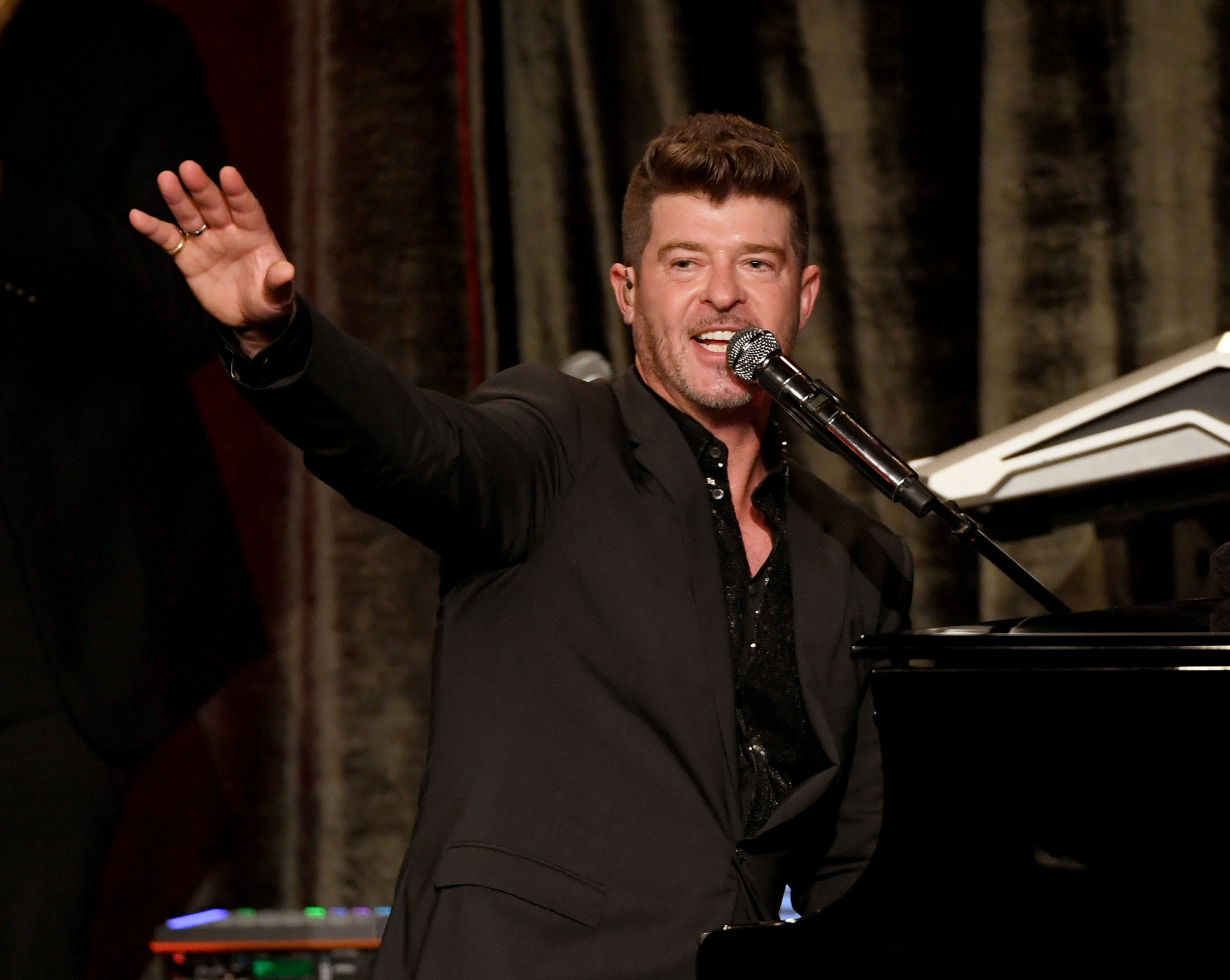 Robin Thicke says new album, first in six years, is like  sunshine coming out after the rain