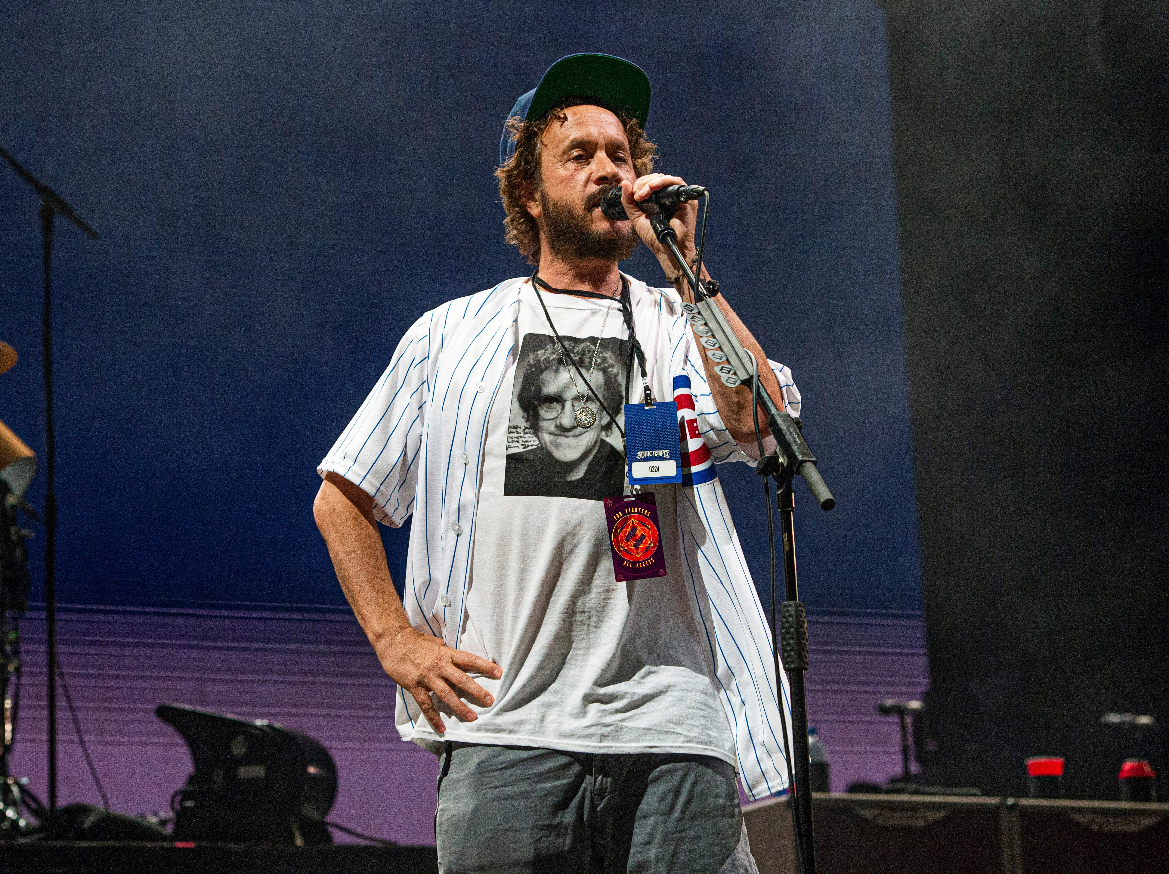 Pauly Shore performs at the Sonic Temple Art and Music Festival at Mapfre Stadium  in Columbus, Ohio.