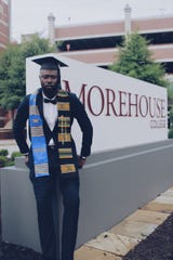 "Jerron Taylor, a 22-year-old Morehouse graduate, calls Robert Smith's promise to cover student loans a ""big blessing."""