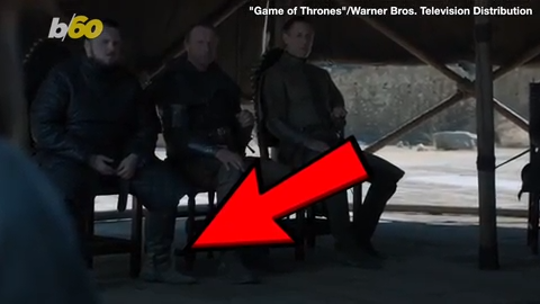 'Game of Thrones': A water bottle befouls series finale