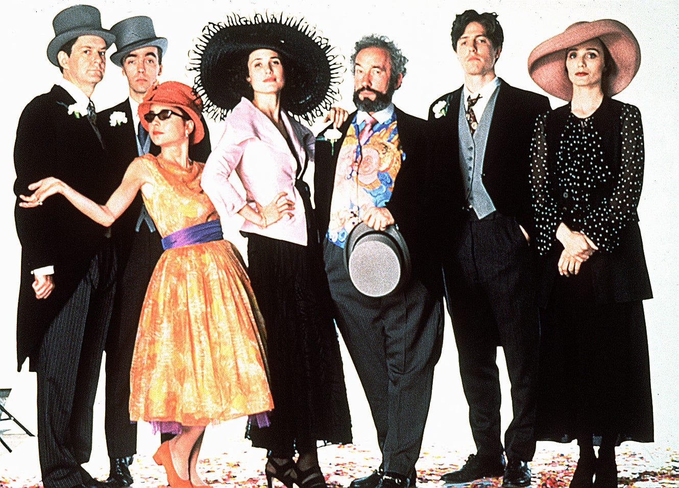 Image result for four weddings and a funeral movie