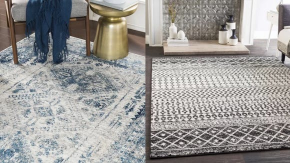 Upgrade your rugs during this awesome sale.