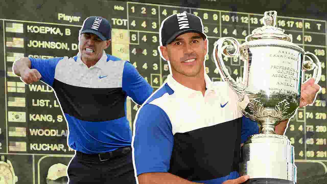 Brooks Koepka ekes out second straight PGA Championship