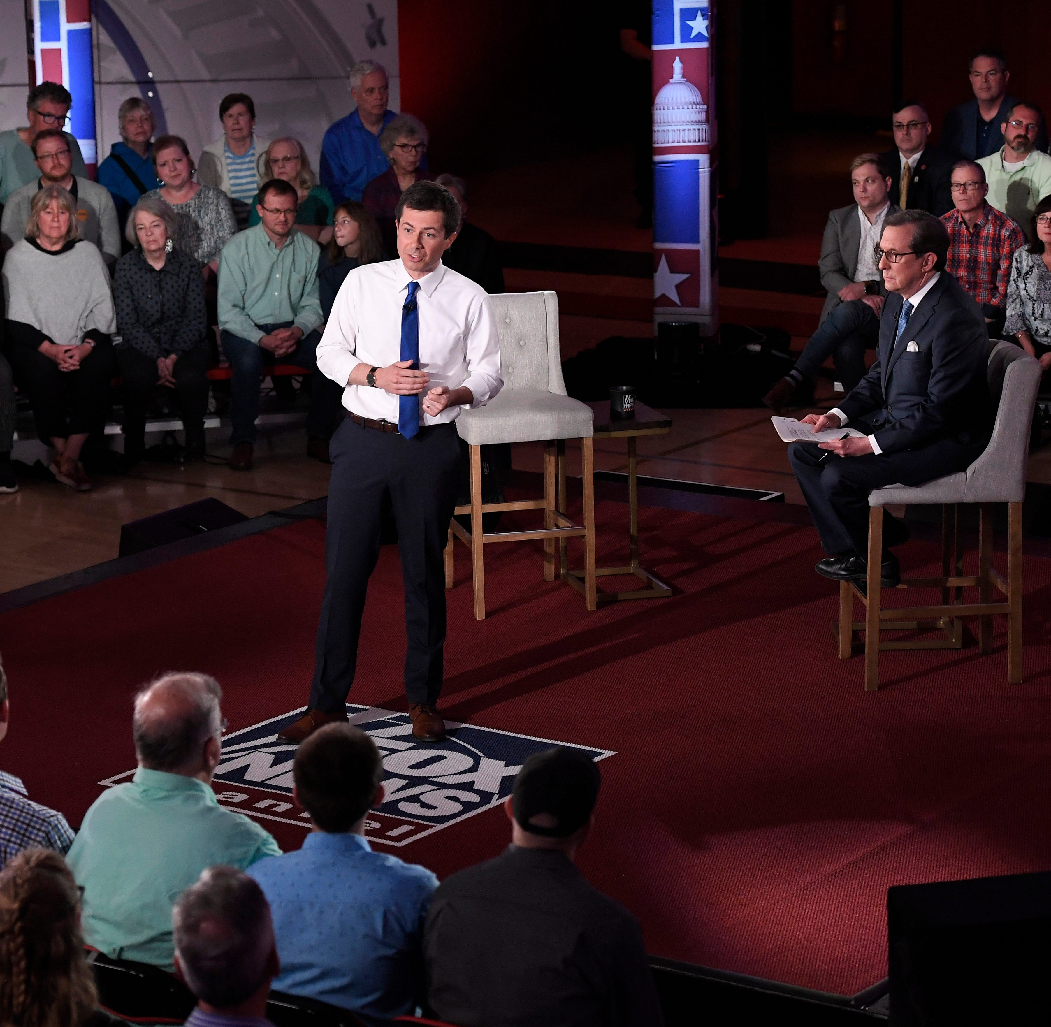 'I don't care': Buttigieg gets applause at Fox News town hall for dismissing Trump tweets