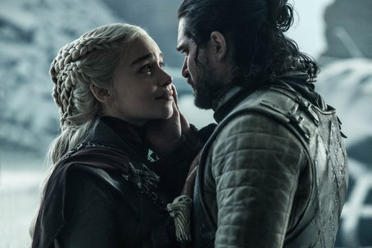 """You'll always be my queen,"" Jon Snow (Kit Harington) told Daenerys Targaryen before stabbing her."