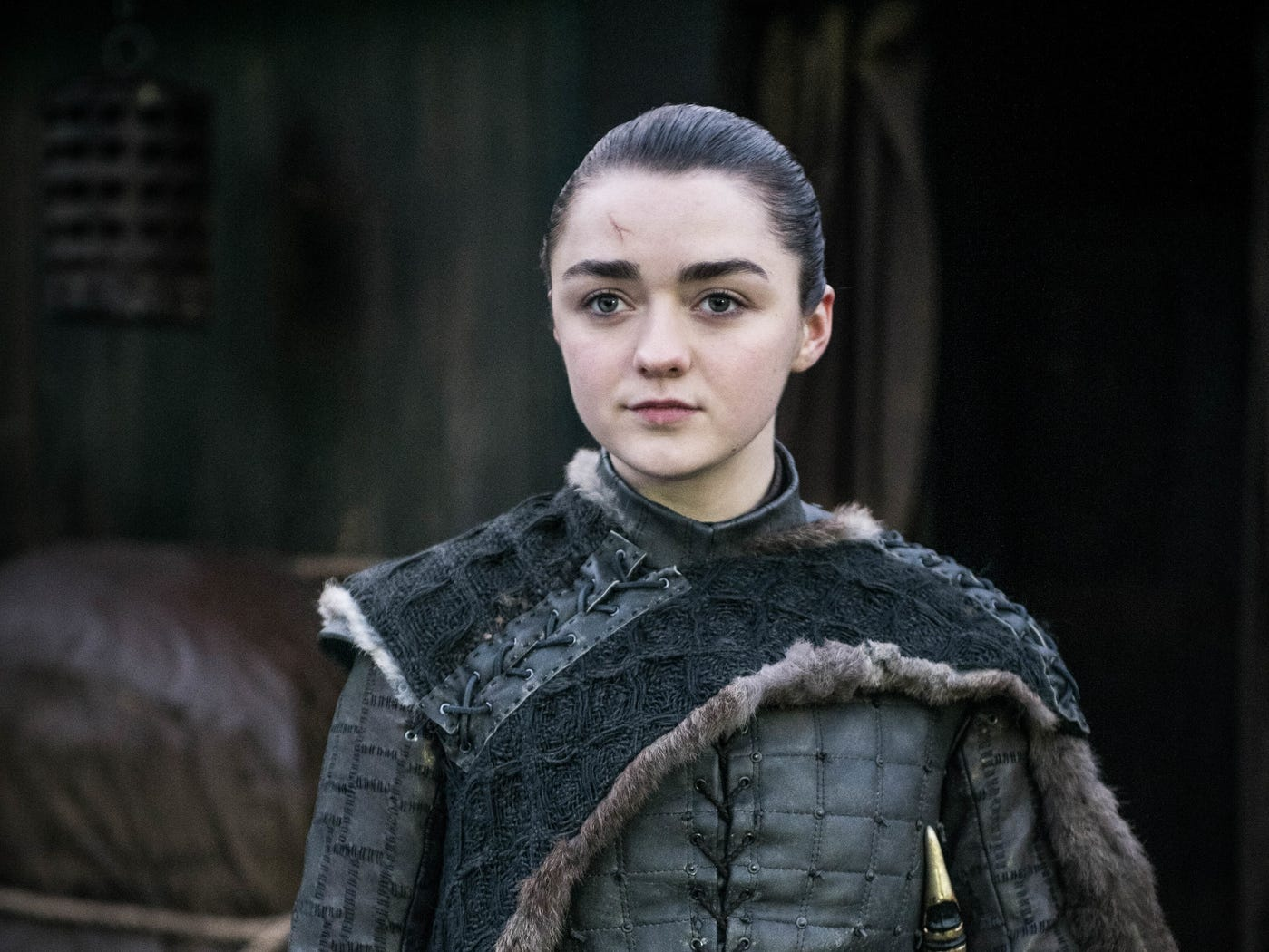 "At the end of ""Game of Thrones,"" Arya (Maisie Williams) decides to head off in a new direction."
